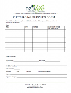 PurchasingSuppliesForm